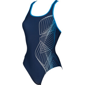 arena Smoothness One Piece Swimsuit Women navy-pix blue